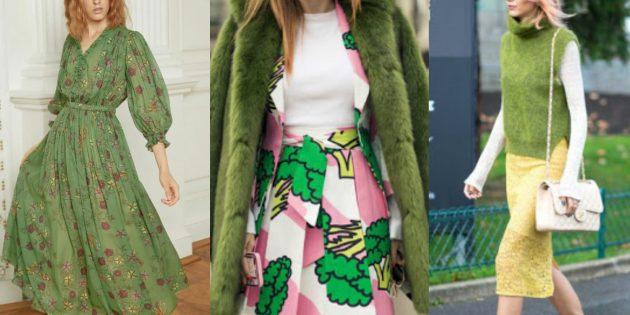 Модные цвета 2019года: стебель перца