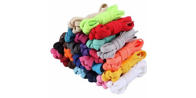 Цветные шнурки