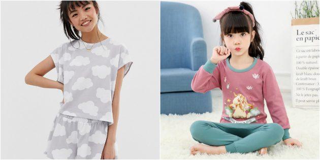 Что подарить девочкам на 8Марта: пижама