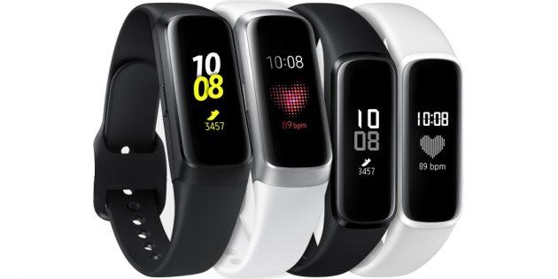 Фитнес-браслеты Galaxy Fit и Fit e