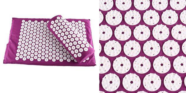 Массажный коврик и подушка