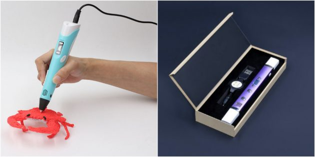 Подарки девочкам на 8Марта: 3D-ручка
