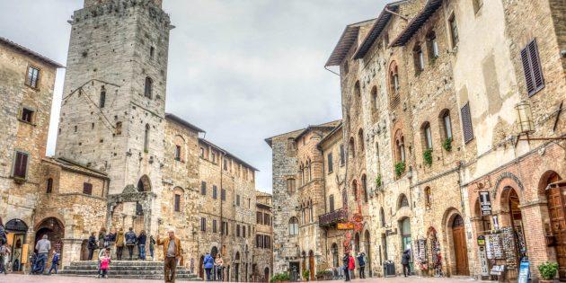 Куда поехать в Европе: Город Сан-Джиминьяно, Италия