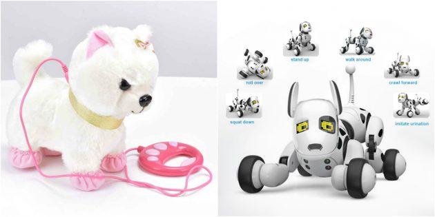 Что подарить девочке на 8Марта: Робот или интерактивная игрушка