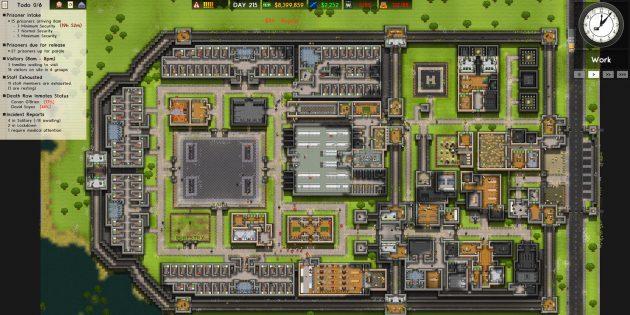 Песочницы: Prison Architect