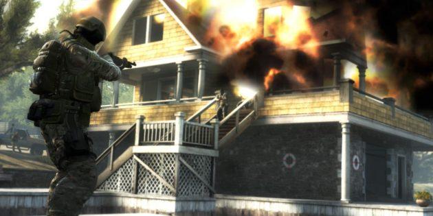 мультиплеерная игра: CS:GO