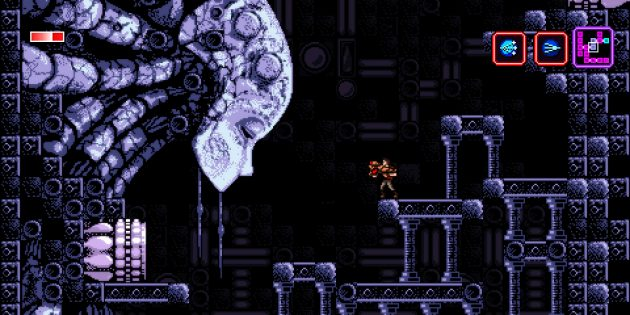 Axiom Verge: Сцена из игры