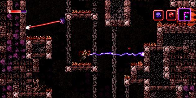 Axiom Verge: Другая сцена из игры