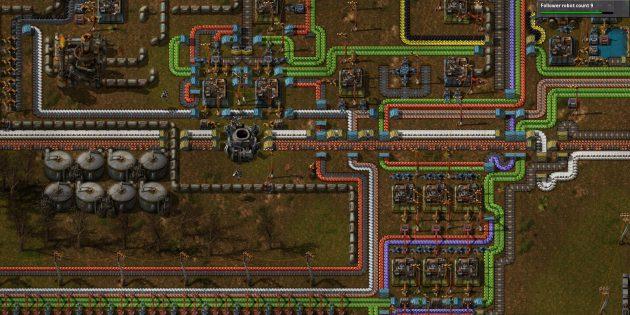 Песочницы: Factorio