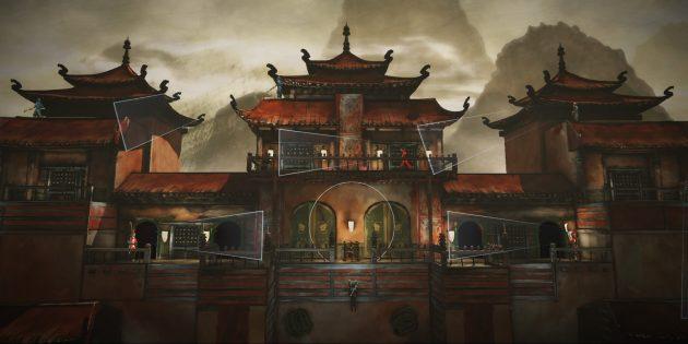 Замок из Assassin's Creed Chronicles: China