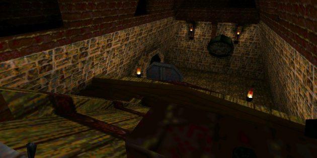 Старые игры на ПК: Сцена из Deadly Shadows