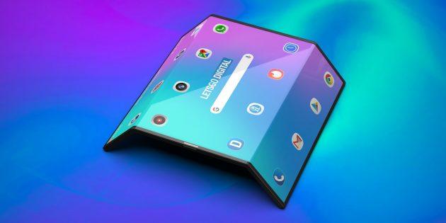 Гибкий смартфон Xiaomi