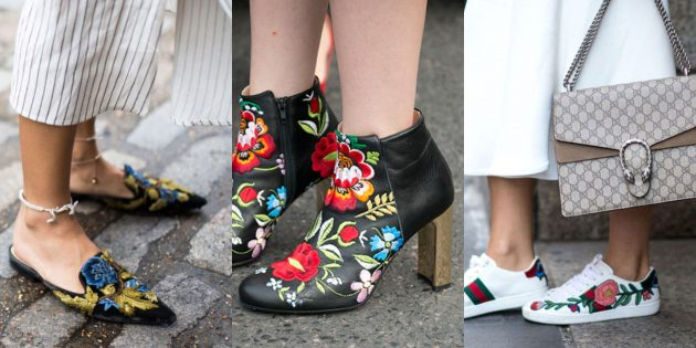 Женская обувь: Обувь с вышивкой
