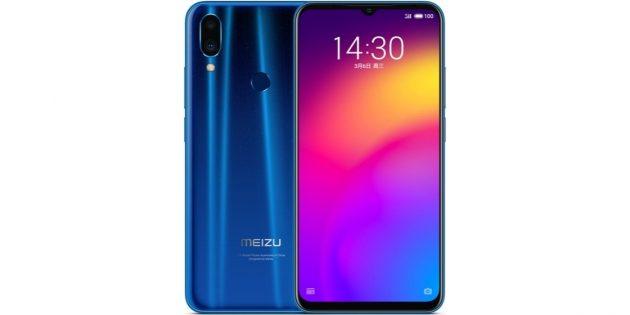 Лучшие смартфоны марта 2019года: MeizuNote 9