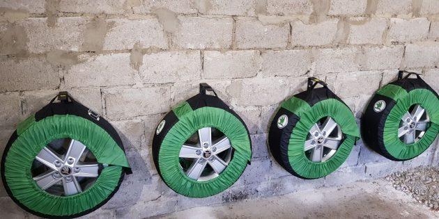 Хранение шин: Выберите место