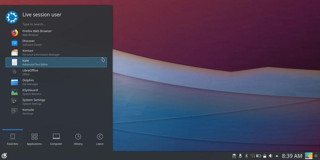 Операционная система Linux: отсутствие навязчивых программ