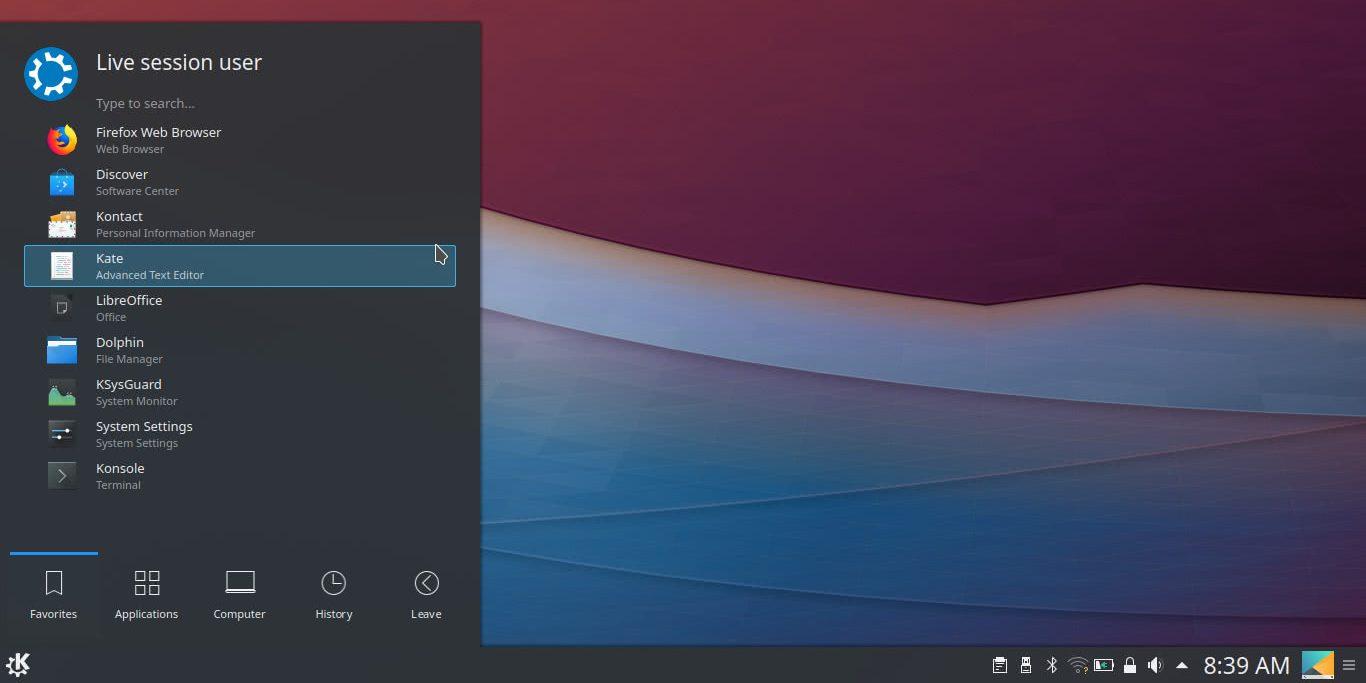 Linux mint сколько занимает места