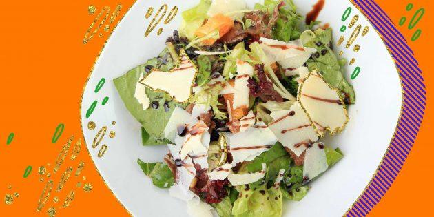 10 тёплых и холодных салатов с куриной печенью