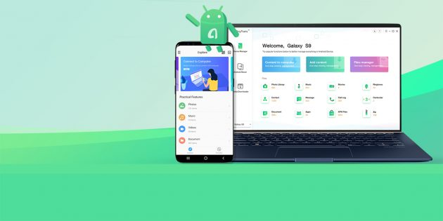 AnyTrans позволит управлять содержимым Android-смартфона при помощи ПК