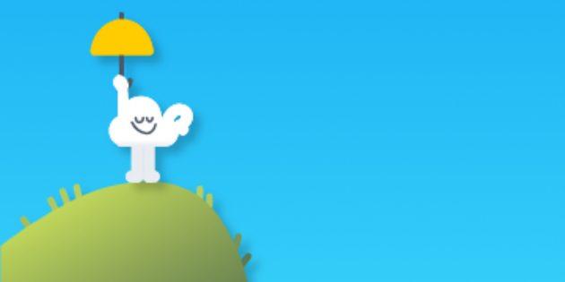 Новая пасхалка от Google: игра про облачко, похожая на Flappy Bird
