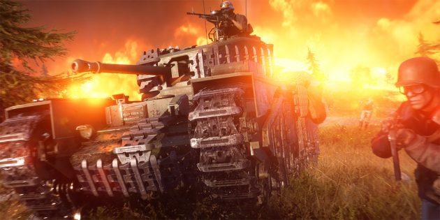 В Battlefield V появилась королевская битва. На игру действует скидка 50%