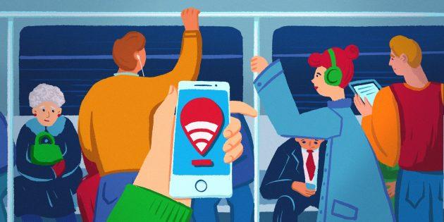 Обзор MT_FREE — приложения для комфортного веб-сёрфинга в метро Москвы и Санкт-Петербурга