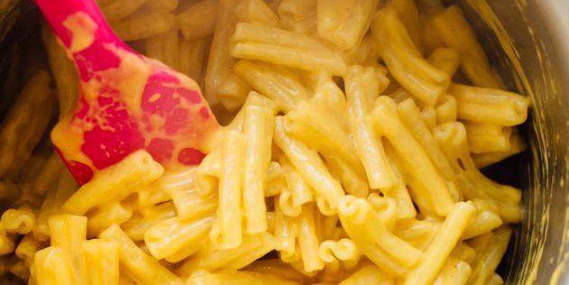 Классические макароны с сыром