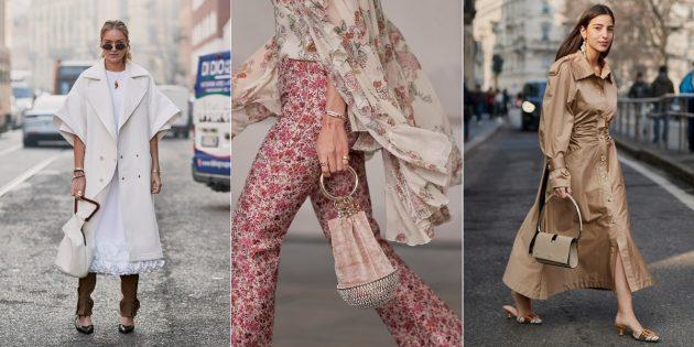 Модные сумки 2019 года: Сумки с необычной ручкой
