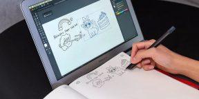 Штука дня: блокнот и ручка, которые можно подключить к MacBook