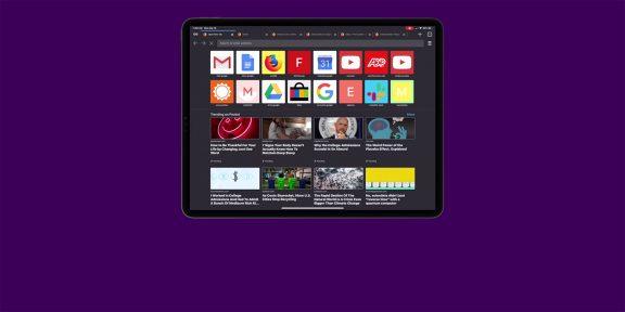Браузер Firefox теперь полностью адаптирован для iPad