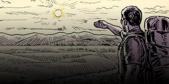 Лайфхак: как узнать, сколько времени осталось до заката, используя лишь пальцы рук