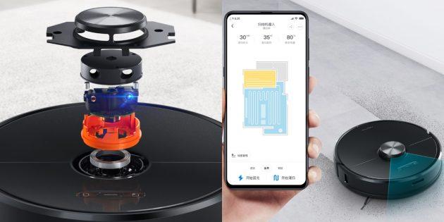 Xiaomi выпустила новый робот-пылесос Roborock с функцией влажной уборки