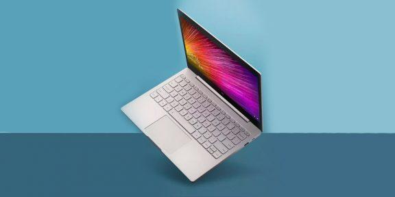 Новый Xiaomi Mi Notebook Air 12,5 легче и тоньше MacBook Air