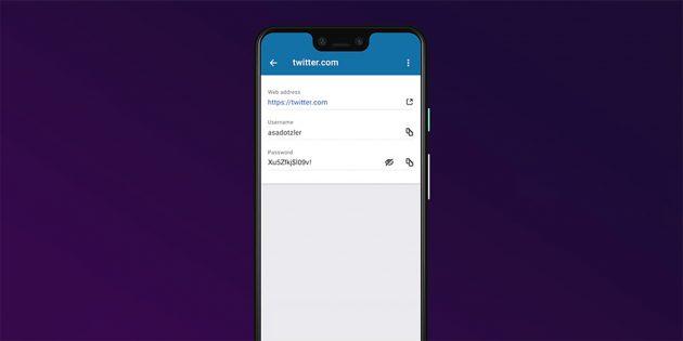 Приложение для хранения паролей от Mozilla вышло на Android