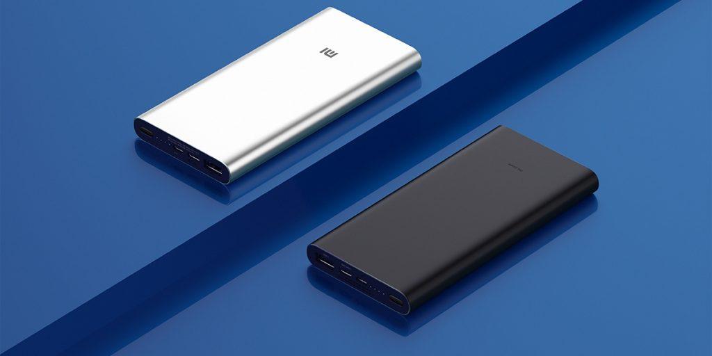 Xiaomi представила Mi Power 3 — обновлённую версию фирменного пауэрбанка на 10 000 мА·ч