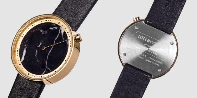 Xiaomi представила кварцевые наручные часы с циферблатом из мрамора