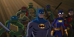 Вышел трейлер мультфильма «Бэтмен против Черепашек-ниндзя»