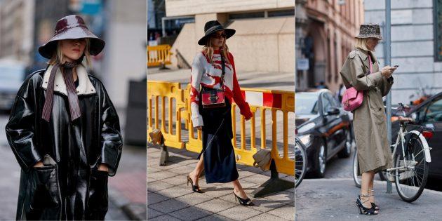 Модные аксессуары 2019года: шляпы и панамы