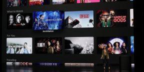 В Apple TV изменился дизайн и появились новые американские каналы
