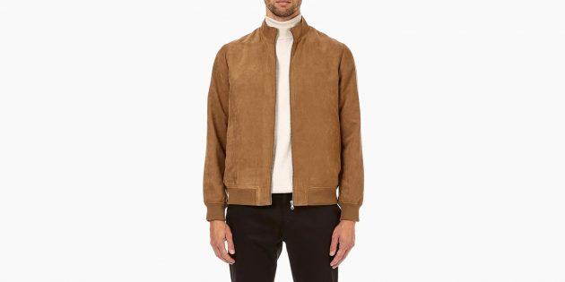 Куртка из мягкого текстиля