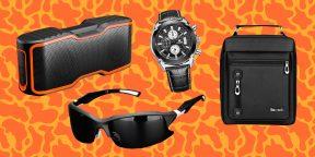 Всё для мужика: спортивные очки, пробка для вина и сумка для инструментов