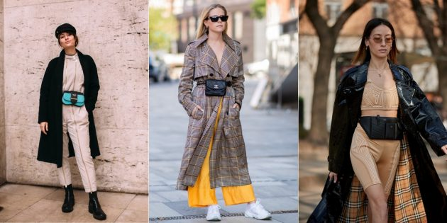Модные сумки 2019 года: Сумки на пояс
