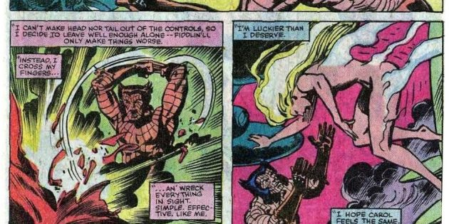 Для тех, кто ждёт выход фильма «Капитан Марвел»: Росомаха спасает Кэрол Дэнверс