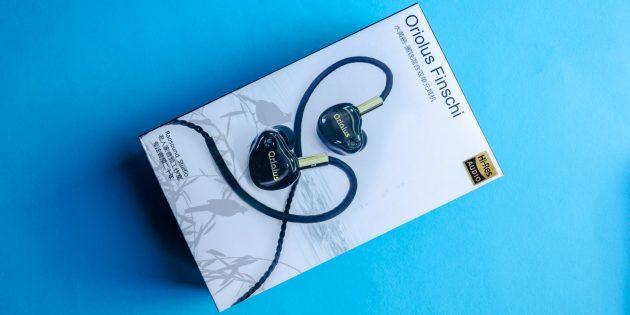 Аудиофильские наушники Oriolus Finschi: комплектация