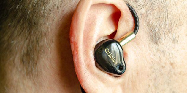 Аудиофильские наушники Oriolus Finschi: посадка в ухе