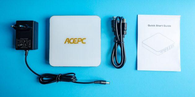 Мини-ПК AcePC AK7: комплектация