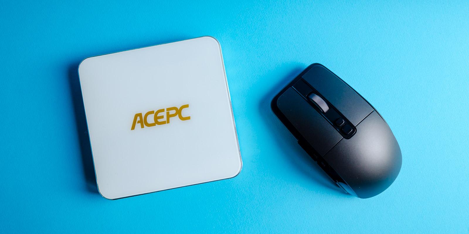 Обзор AcePC AK7 — миниатюрного компьютера для офисных работ и