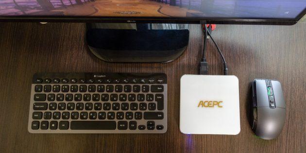 Обзор AcePC AK7 —миниатюрного компьютера для офисных работ и развлечений
