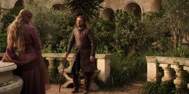 герои «Игры престолов»: Нед Старк и Серсея Ланнистер