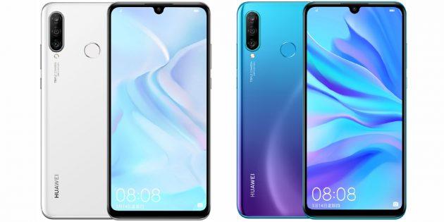 Huawei представила Nova 4e с тройной основной камерой и 32-Мп для селфи